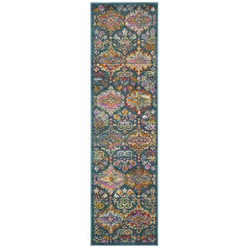 Safavieh Madison Merritt Blue Orange Indoor Bohemian