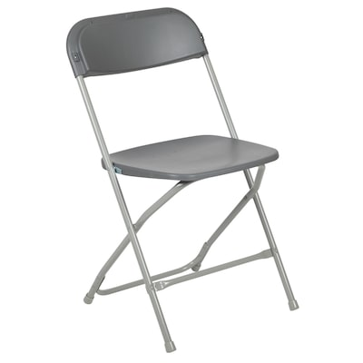 Tremendous Outdoor Grey Plastic Solid Standard Folding Chair Pabps2019 Chair Design Images Pabps2019Com