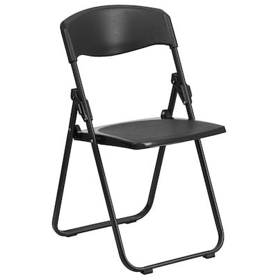 Astonishing Outdoor Black Plastic Solid Standard Folding Chair Alphanode Cool Chair Designs And Ideas Alphanodeonline