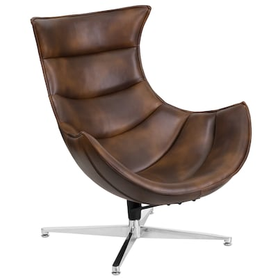 Astounding Modern Bomber Jacket Faux Leather Accent Chair Bralicious Painted Fabric Chair Ideas Braliciousco