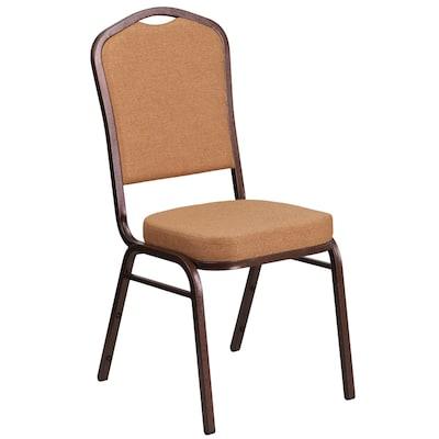Peachy Modern Light Brown Fabric Copper Vein Frame Accent Chair Machost Co Dining Chair Design Ideas Machostcouk
