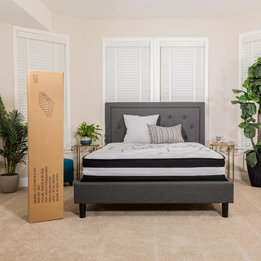 Capri Comfortable Sleep 12 Inch Memory Foam and Pocket Spring Mattress-In-A-Box