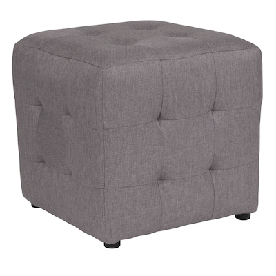 Magnificent Flash Furniture Avendale Tufted Upholstered Ottoman Pouf In Short Links Chair Design For Home Short Linksinfo