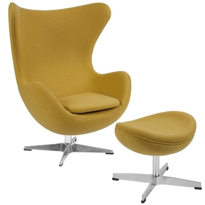 Groovy Flash Furniture Modern Citron Fabric Accent Chair At Lowes Com Pabps2019 Chair Design Images Pabps2019Com