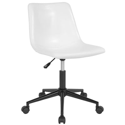Flash Furniture Siena Home And Office Task Chair In White