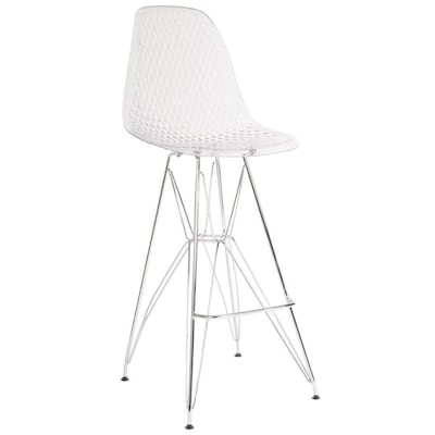 Astounding Flash Furniture Modern Clear Plastic Accent Chair At Lowes Com Spiritservingveterans Wood Chair Design Ideas Spiritservingveteransorg
