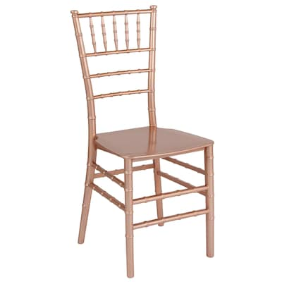 Marvelous Flash Furniture Modern Rose Gold Accent Chair At Lowes Com Unemploymentrelief Wooden Chair Designs For Living Room Unemploymentrelieforg