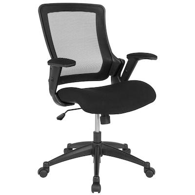 Flash Furniture Mid-Back Black Mesh Executive Swivel Office