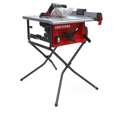 10 In Carbide Tipped Blade 15 Amp Table Saw