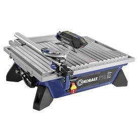 Kobalt 7-in Wet Tabletop Tile Saw