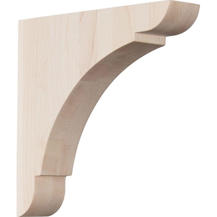 Ekena Millwork 1.75-in x 8-in Alder Olympic Wood Corbel