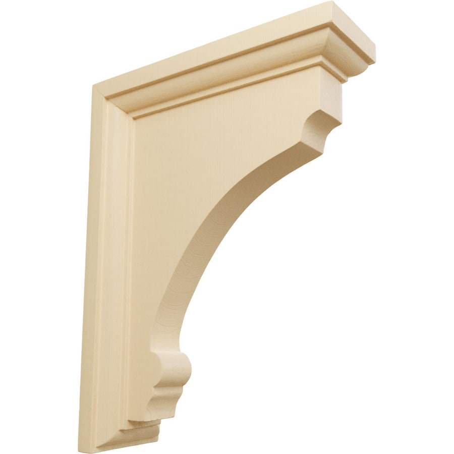 Ekena Millwork 2.5-in x 8-in Maple Thompson Wood Corbel