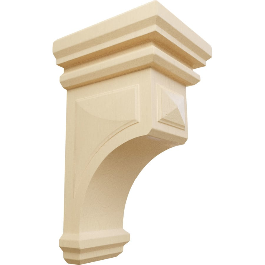 Ekena Millwork 5-in x 10-in Maple Corbel
