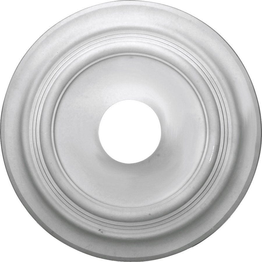 Ekena Millwork Traditional 11.73-in x 11.73-in Polyurethane Ceiling Medallion