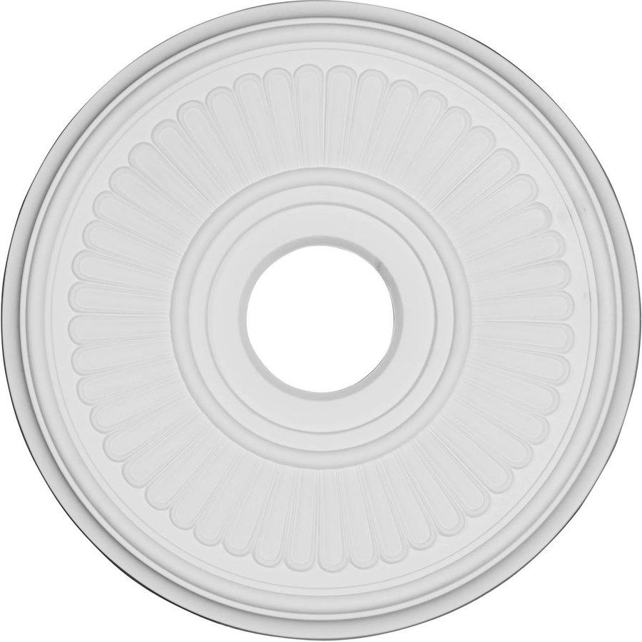 Ekena Millwork Berkshire 15.71-in x 15.71-in Polyurethane Ceiling Medallion