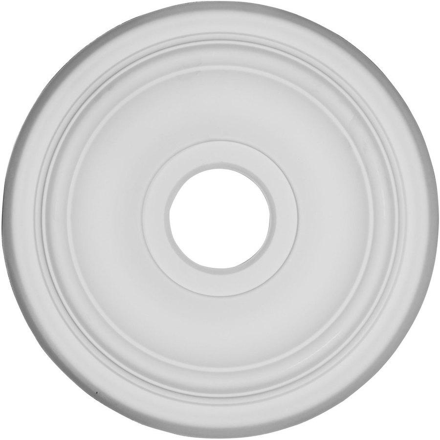 Ekena Millwork Traditional 15.71-in x 15.71-in Polyurethane Ceiling Medallion
