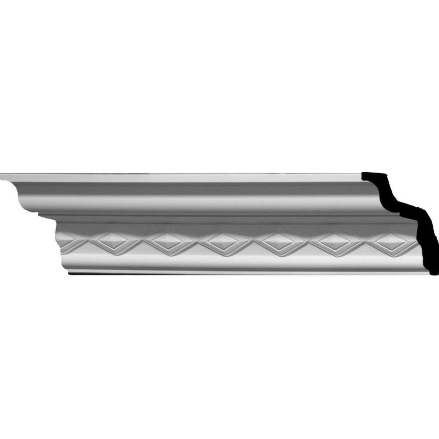 Ekena Millwork 2.75-in x 7.88-ft Urethane Sofia Crown Moulding