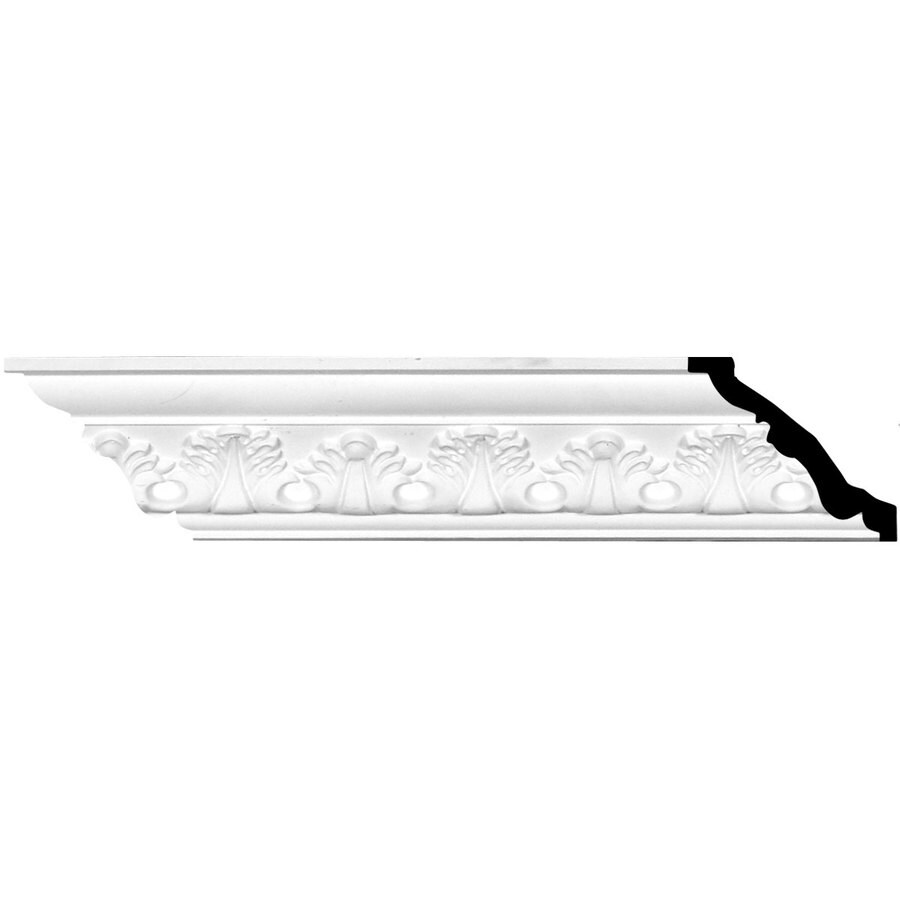 Ekena Millwork 3.625-in x 7.88-ft Urethane Legacy Crown Moulding