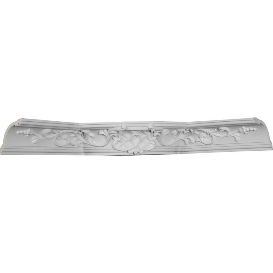 Ekena Millwork Diane 27.625-in x 27.625-in Urethane Inside Corner Crown Moulding Block