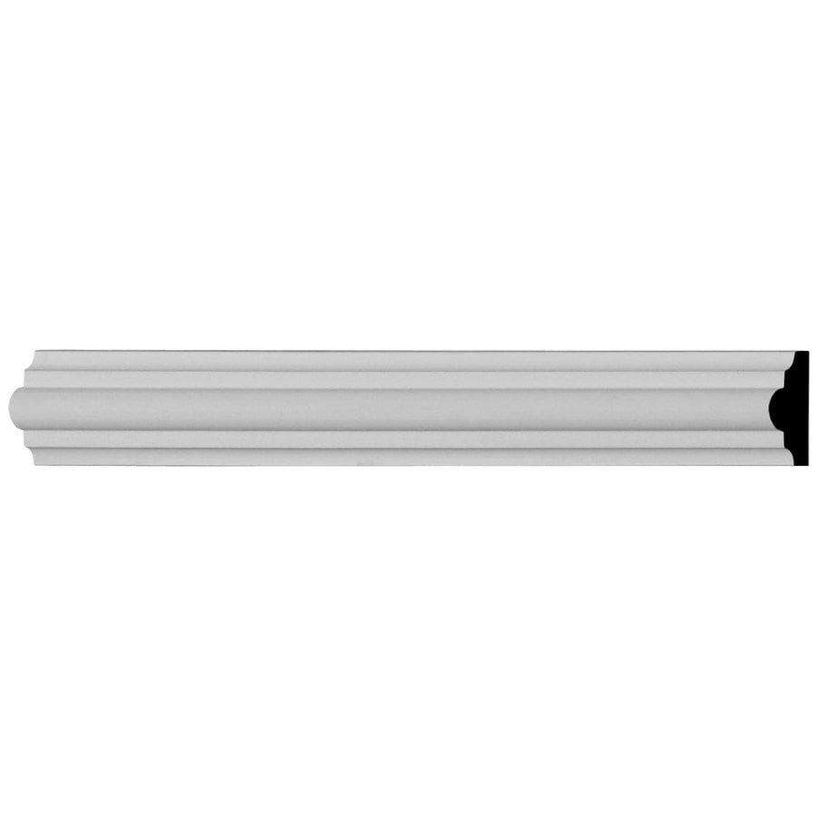 Ekena Millwork Classic 0.875-in x 7.875-ft Primed Urethane Connector Wall Panel Moulding