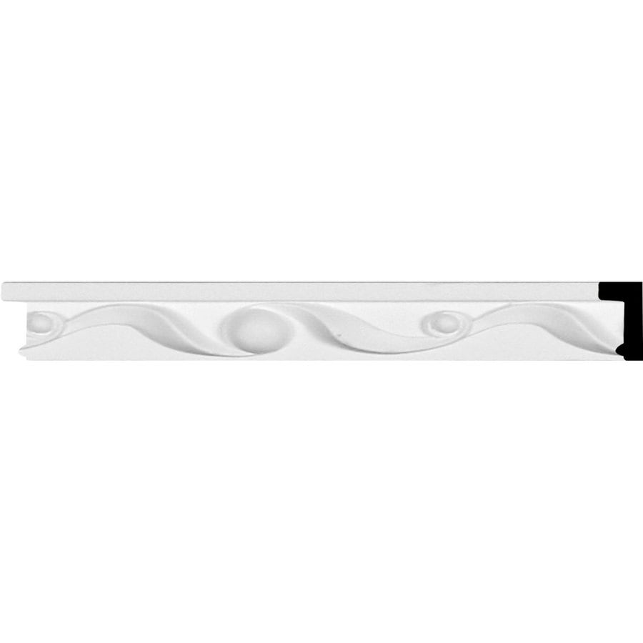 Ekena Millwork Ribbon 1.25-in x 7.88-ft Primed Polyurethane Connector Wall Panel Moulding