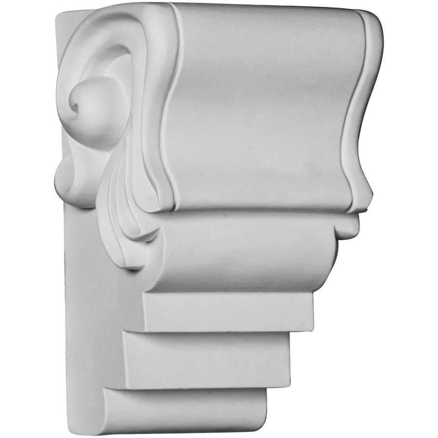 Ekena Millwork 5.125-in x 7.875-in White Dylan Primed Urethane Corbel