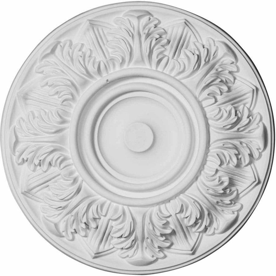 Ekena Millwork Whitman 13-in x 13-in Urethane Ceiling Medallion