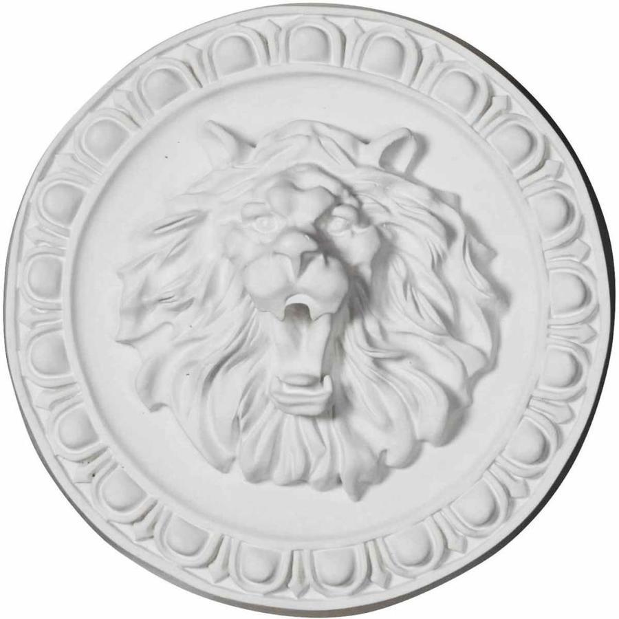 Ekena Millwork Lion Round Polyurethane Rosette