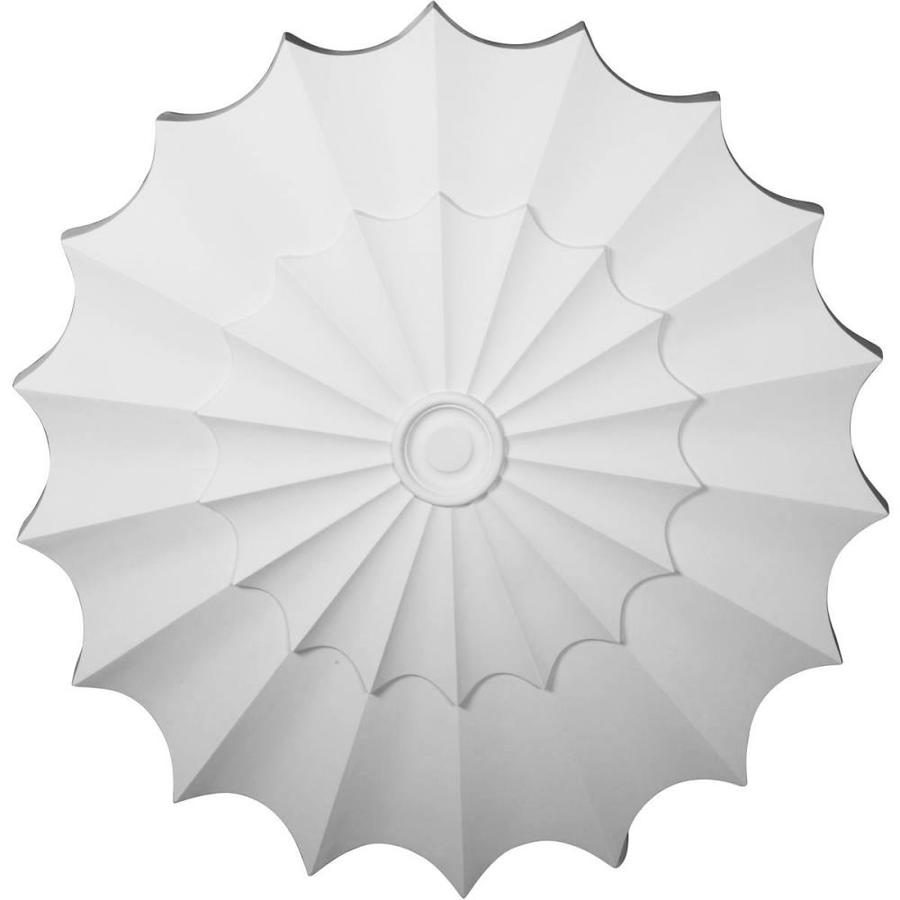 Ekena Millwork Shakuras 64.25-in x 64.25-in Polyurethane Ceiling Medallion