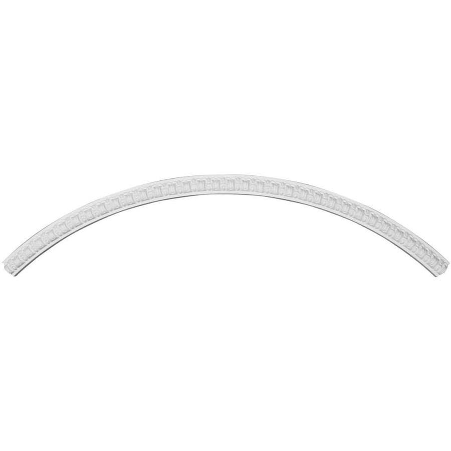 Ekena Millwork Nexus 2.375-in x 75.625-in Quarter Polyurethane Ceiling Ring