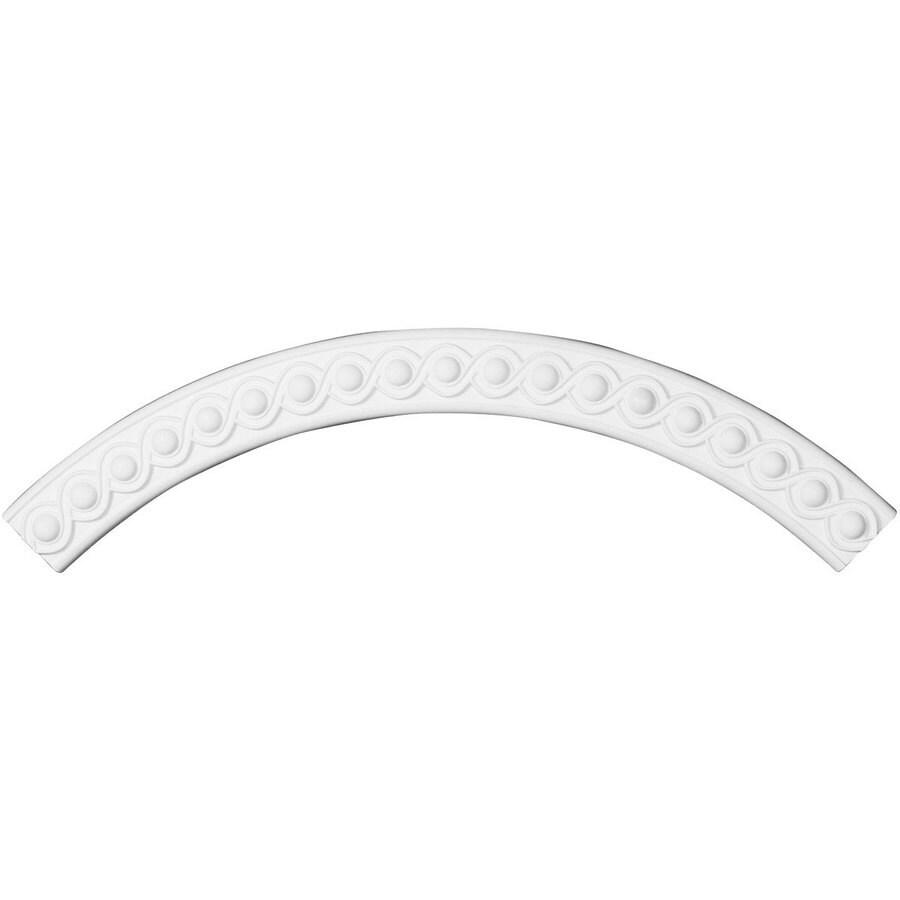 Ekena Millwork Hillsborough 3.375-in x 50-in Quarter Polyurethane Ceiling Ring