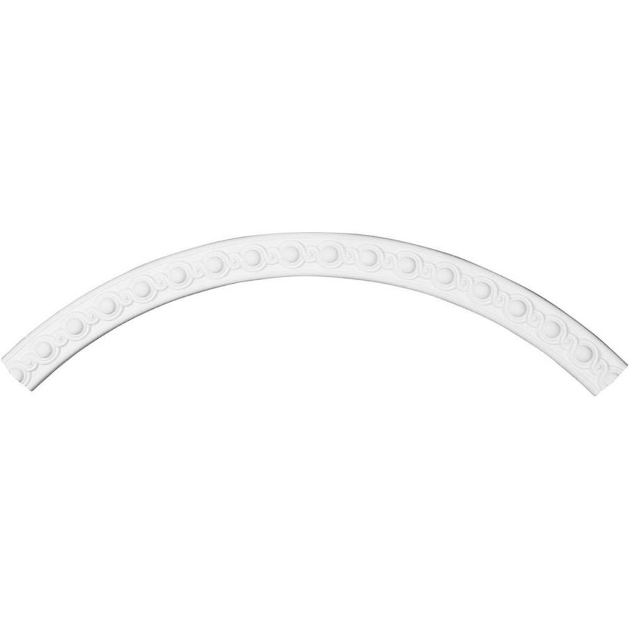 Ekena Millwork Hillsborough 3-in x 59.125-in Quarter Polyurethane Ceiling Ring