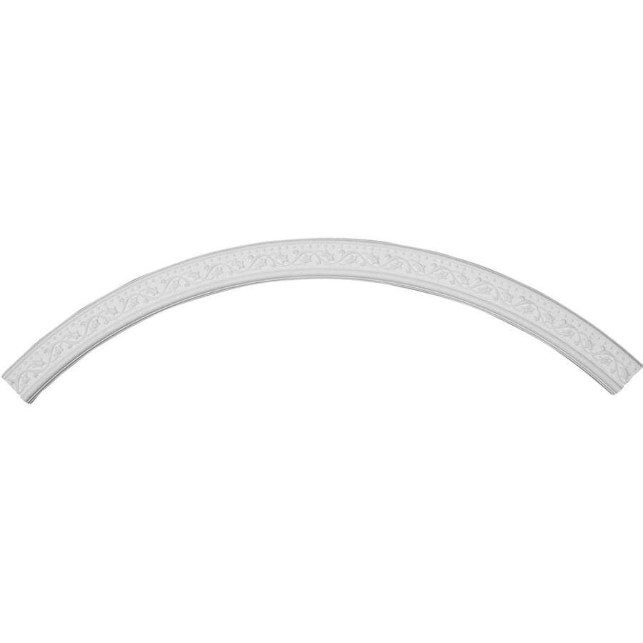 Ekena Millwork Marcella 4-in x 86.625-in Quarter Polyurethane Ceiling Ring