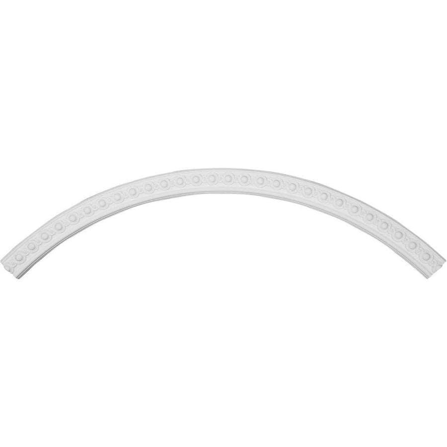 Ekena Millwork Hillsborough 4-in x 94.5-in Quarter Polyurethane Ceiling Ring