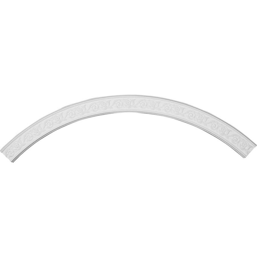 Ekena Millwork Aberdeen 4.375-in x 87.375-in Quarter Polyurethane Ceiling Ring