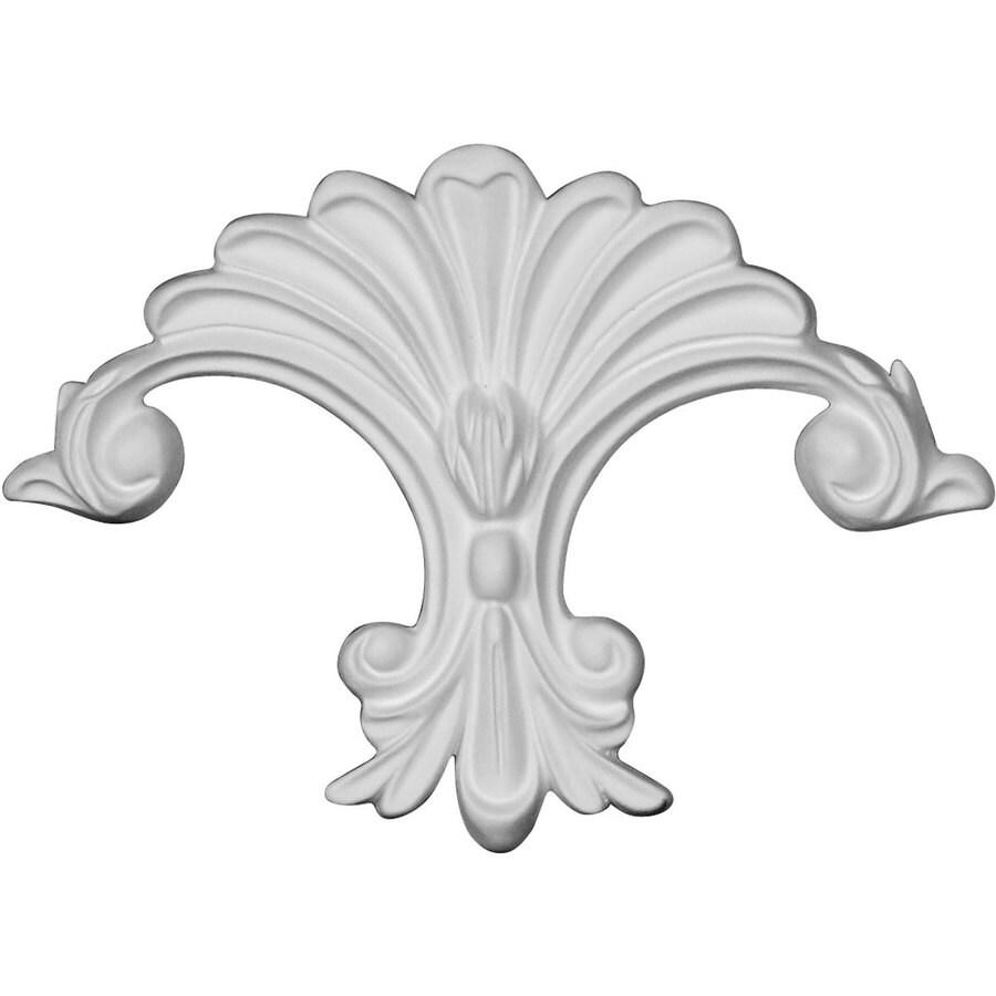 Ekena Millwork Scroll 6.375-in x 4.5-in Scroll Primed Urethane Applique