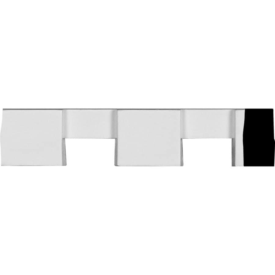 Ekena Millwork 1.25-in x 1.65-ft Primed Polyurethane Dentil Block Crown Moulding