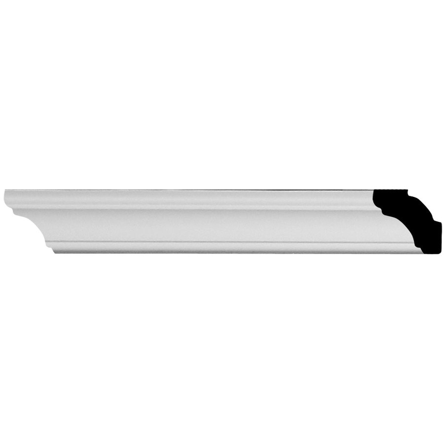 Ekena Millwork Egg and Dart 1.25-in x 1.42-ft Polyurethane Connector Wall Panel Moulding