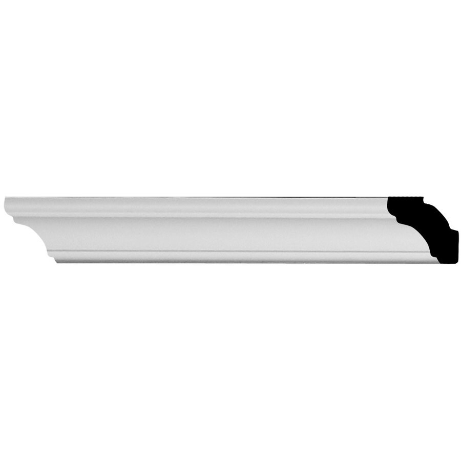 Ekena Millwork Egg and Dart 1.25-in x 1.42-ft Primed Polyurethane Connector Wall Panel Moulding