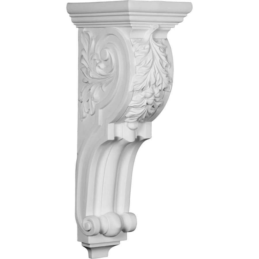 Ekena Millwork 7.875-in x 20-in White Hamilton Primed Urethane Corbel