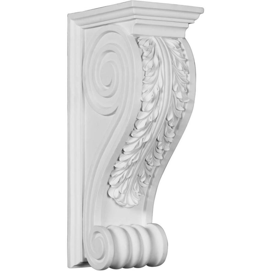 Shop Ekena Millwork 8 In X 18 In White Polyurethane Corbel At