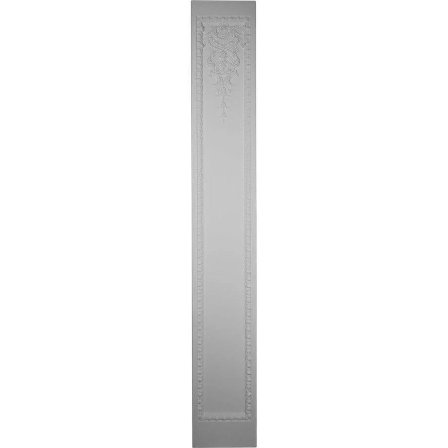Ekena Millwork 13.75-in x 7.875-ft White Architectural Fireplace Pilaster