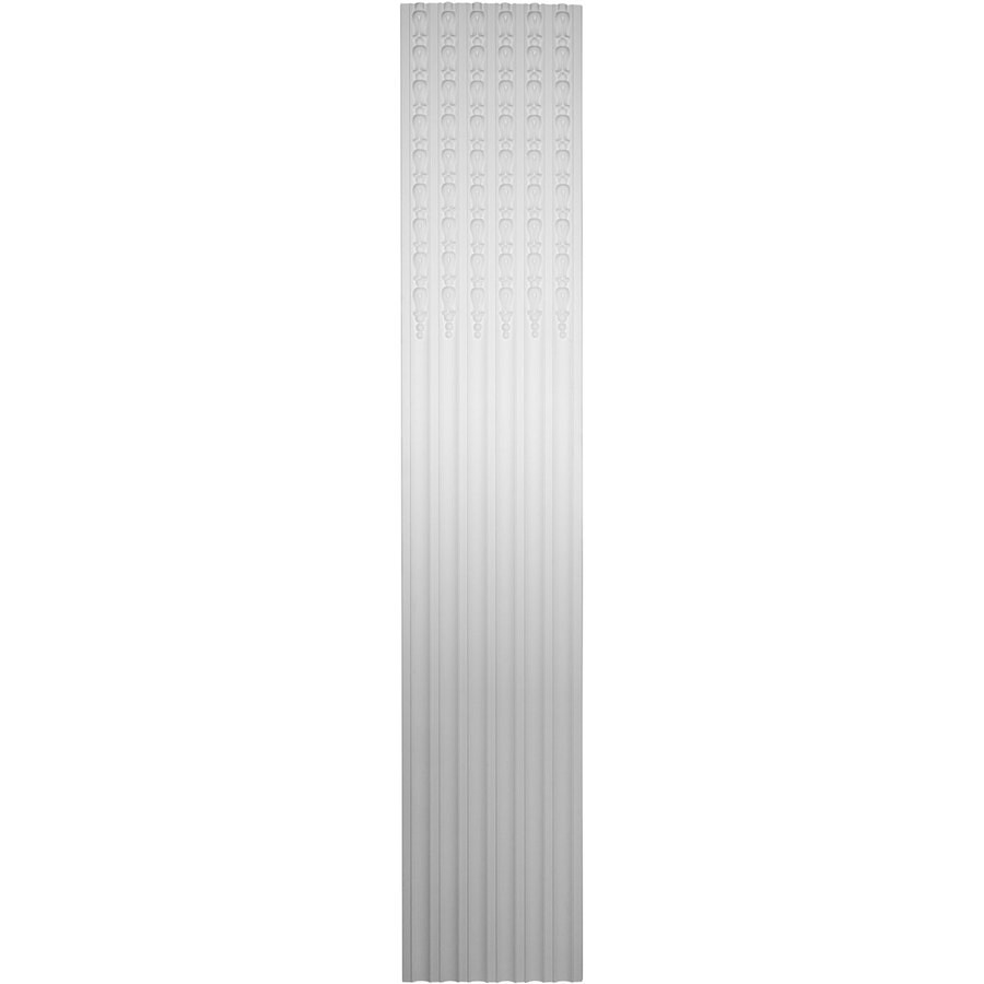 Ekena Millwork 17.625-in x 7.875-ft White Architectural Fireplace Pilaster