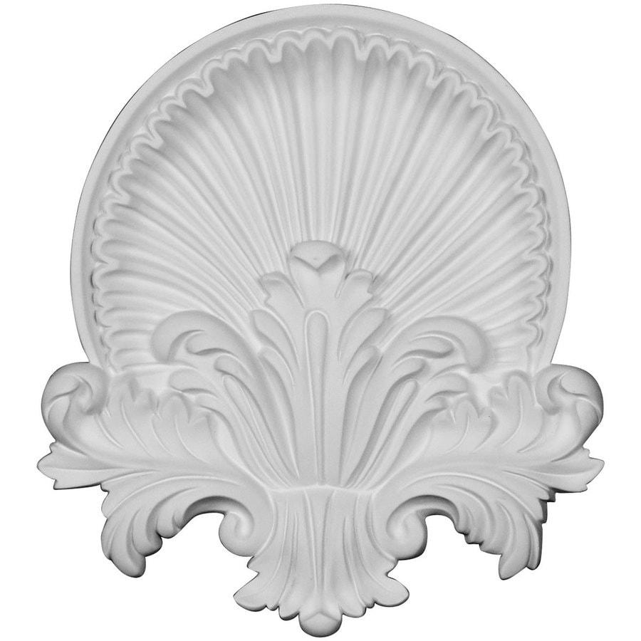 Ekena Millwork Shell 10.625-in x 11.75-in Urethane Applique