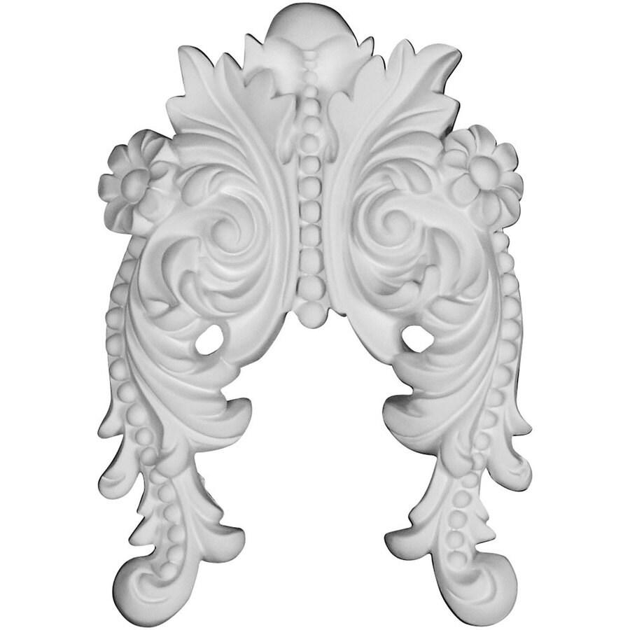 Ekena Millwork Beaded 6-in x 8.5-in Bead Primed Urethane Applique
