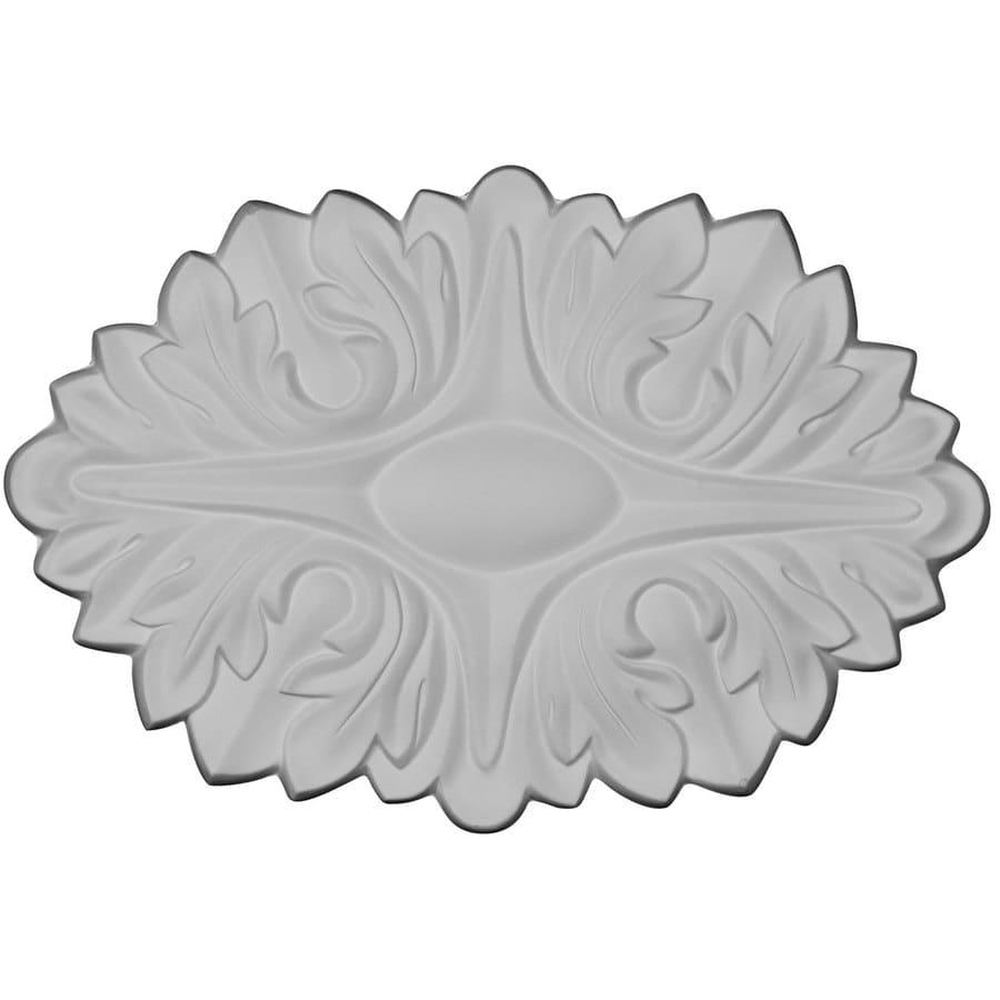 Ekena Millwork Palmetto 11.75-in x 7.875-in Flower Primed Urethane Applique
