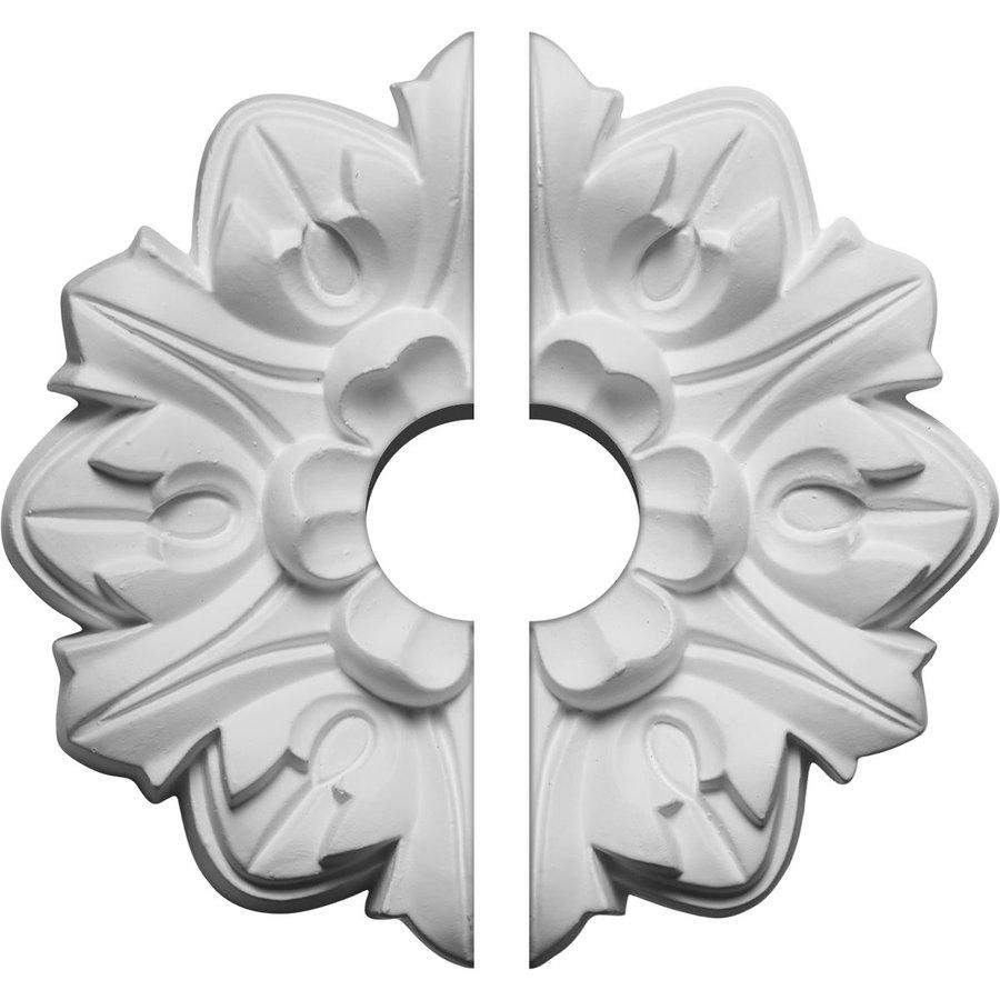 Ekena Millwork Emery 7.625-in x 7.625-in Urethane Ceiling Medallion