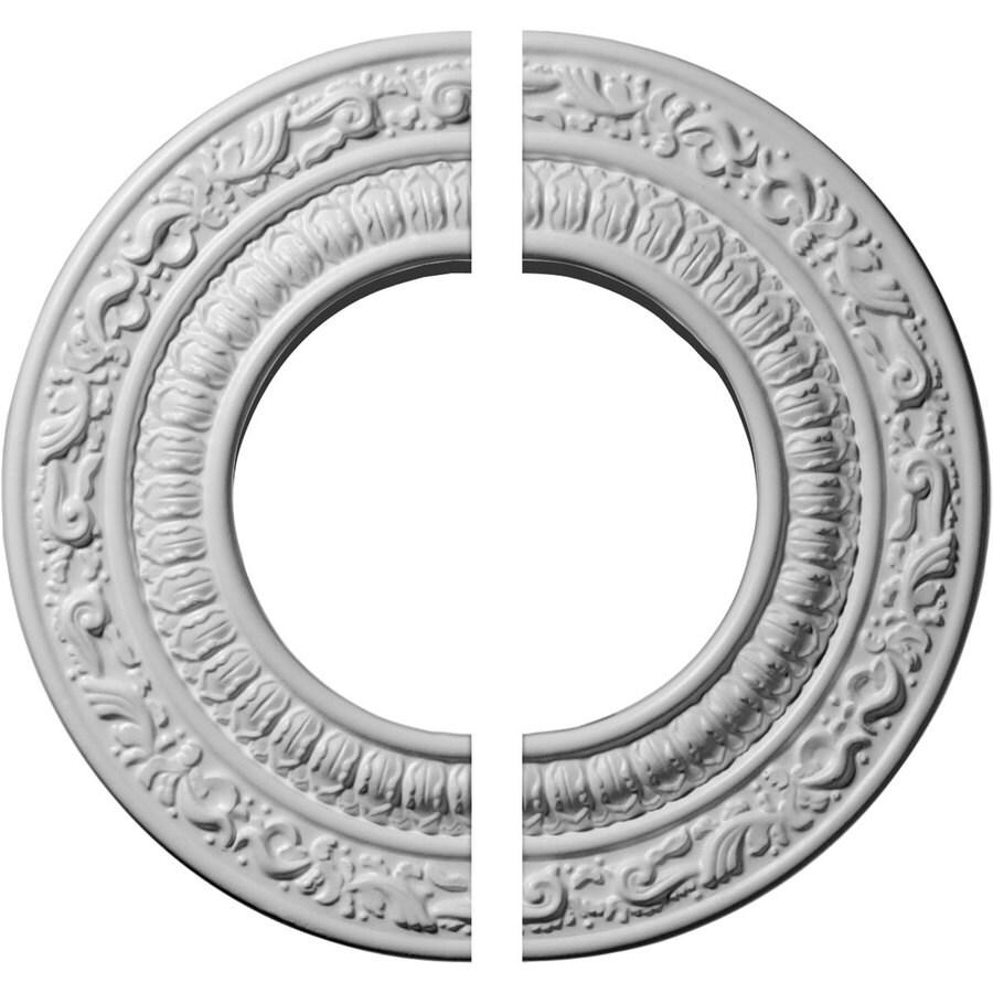 Ekena Millwork Andrea 8.125-in x 8.125-in Urethane Ceiling Medallion
