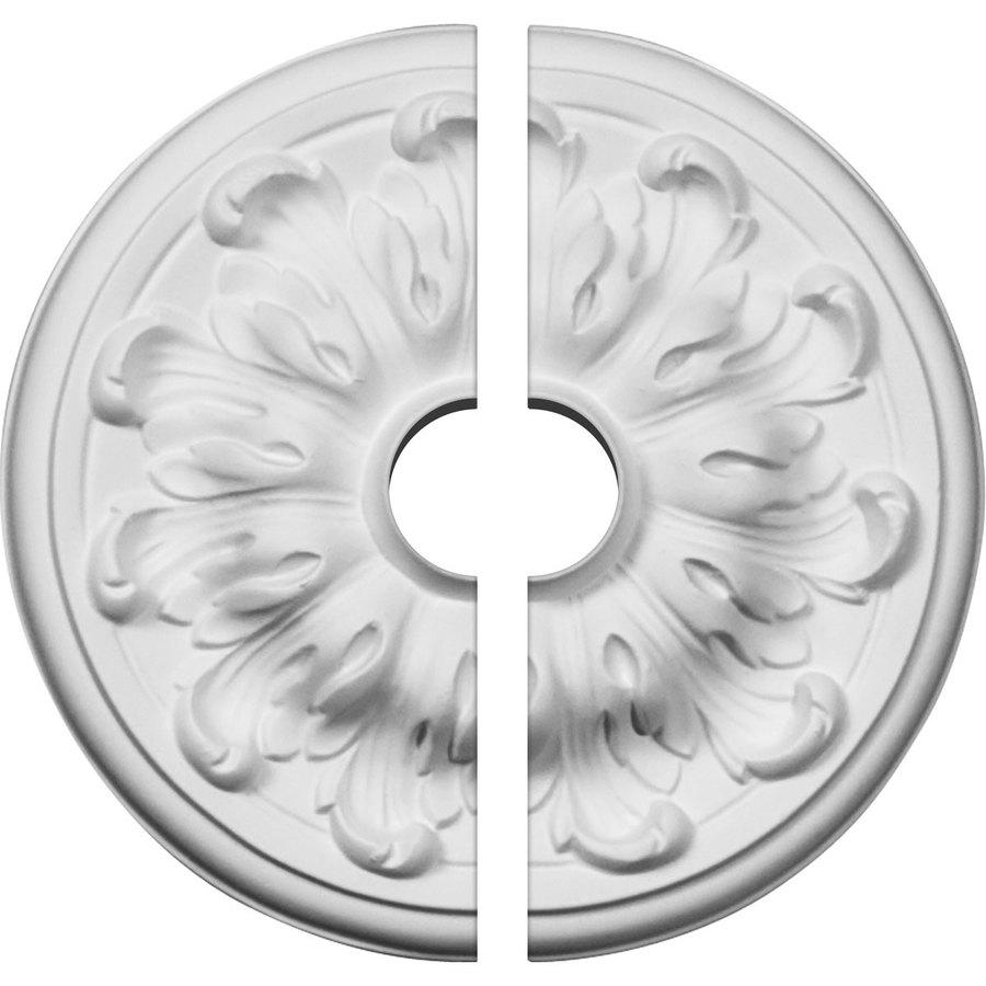 Ekena Millwork Millin 7.875-in x 7.875-in Urethane Ceiling Medallion