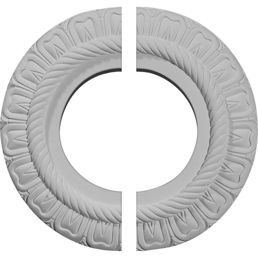 Ekena Millwork Claremont 9-in x 9-in Urethane Ceiling Medallion
